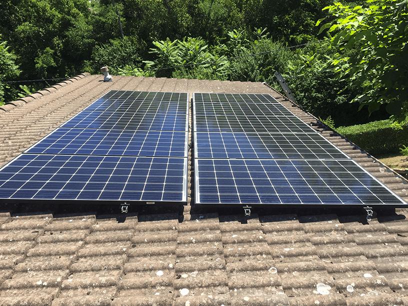 installation de panneaux solaires à Lyon
