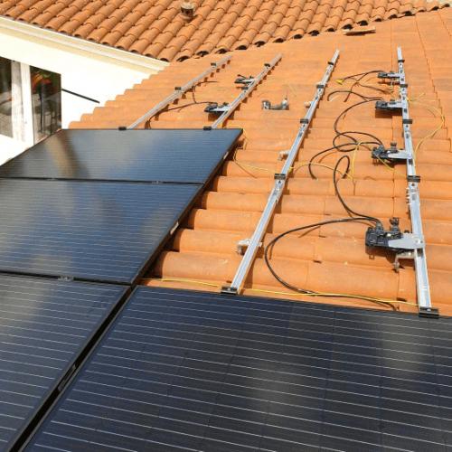 Installation de panneaux solaire à Chassieux